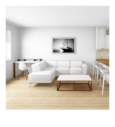 Vizualizace č. 3, obývací pokoj