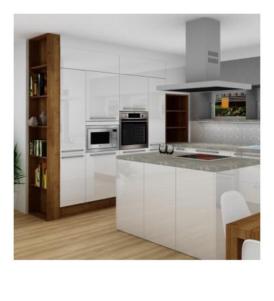 Vizualizace č. 2, kuchyň
