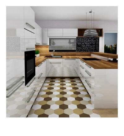 Vizualizace č. 3, kuchyň